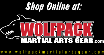 Shop online at www.wolfpackmartialartsgear.com